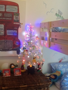Kids fibre optic tree