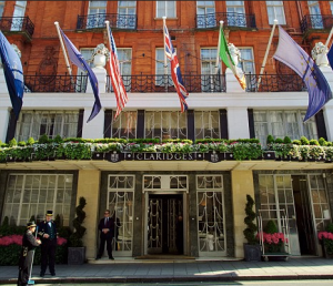 The office - Claridges Hotel Mayfair